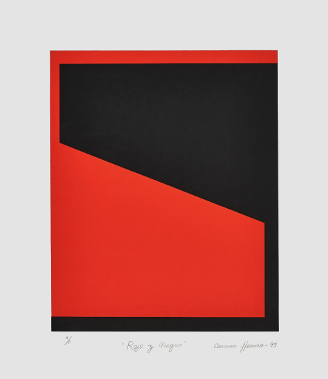 Rojo y Negro (Red and Black)
