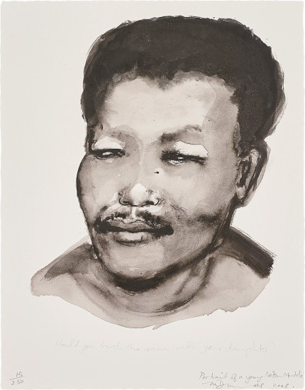 Portrait of a Young Nelson Mandela