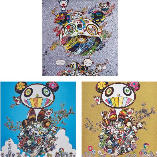 Chaos; Panda Family- Happiness; and Panda Family
