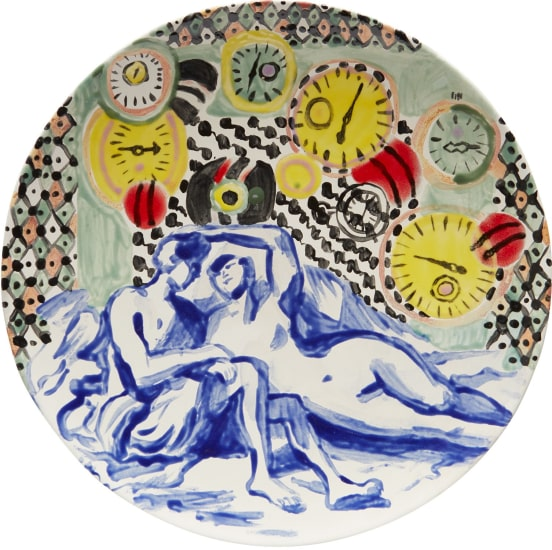 Lover's Clock Plate