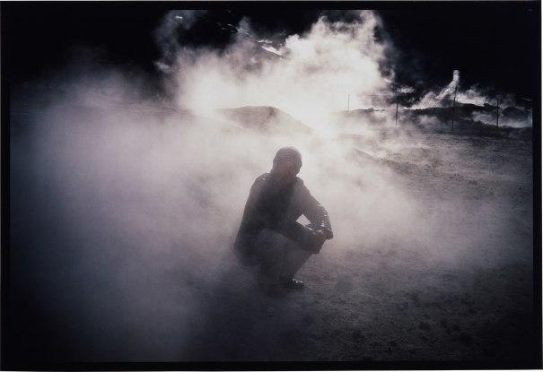 Bruce in the Smoke, Solftara, Pozzuoli, Italy