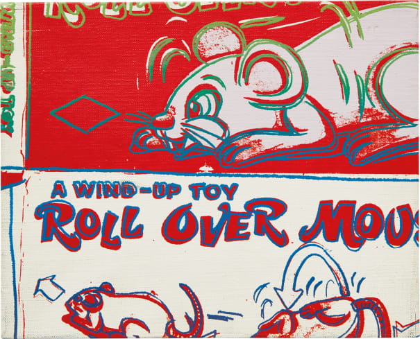 Rollover Mouse from the series Toy Paintings
