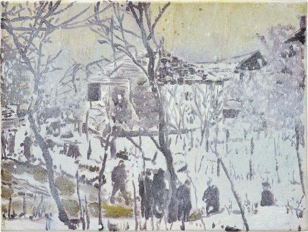 Slushy Landscape (with figures)