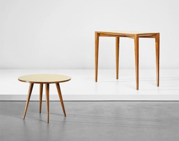 Console and side table, designed for the Fondazione Livio e Maria Garzanti, Forlì