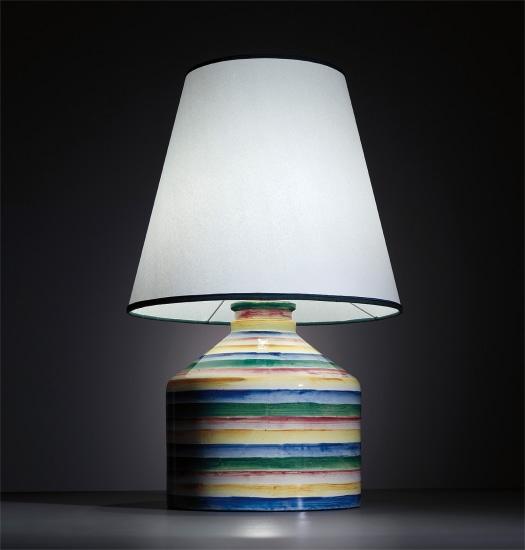 Rare 'Arcobaleno' table lamp, model no. 5912
