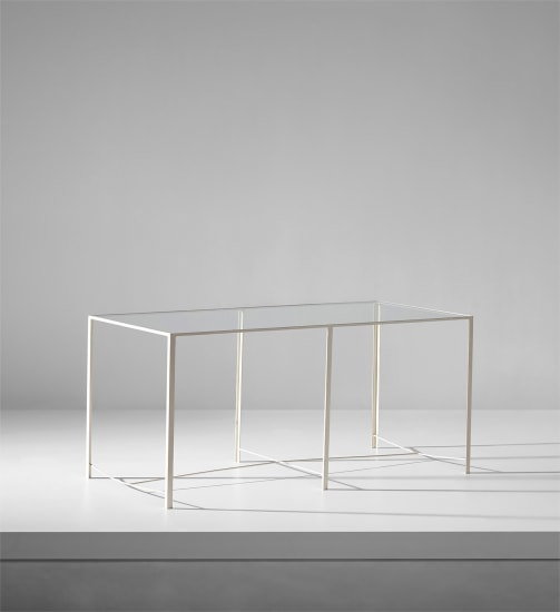 Rare low table, designed for villa M., Cantù