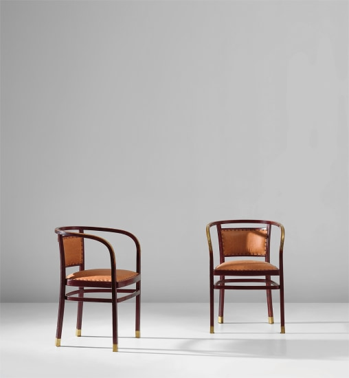 Pair of armchairs, model no. 718/F