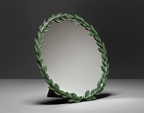 'Laurel' mirror, model no. 2492