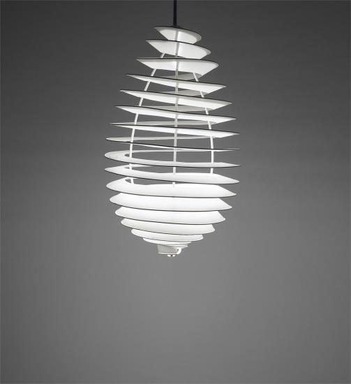 'Spiral' ceiling light