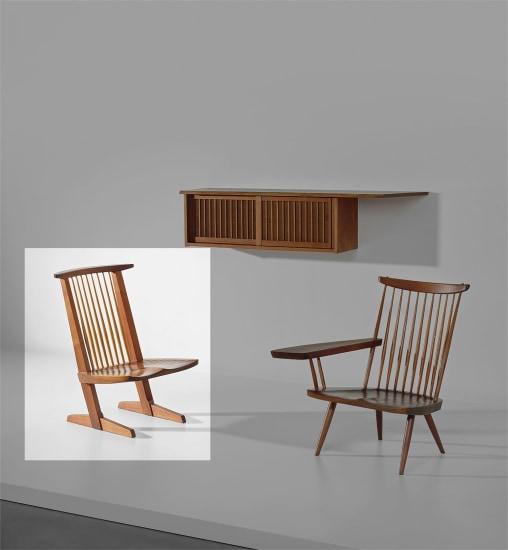'Conoid' lounge chair