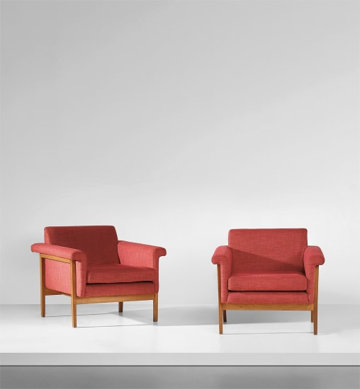 Pair of 'Canada' armchairs