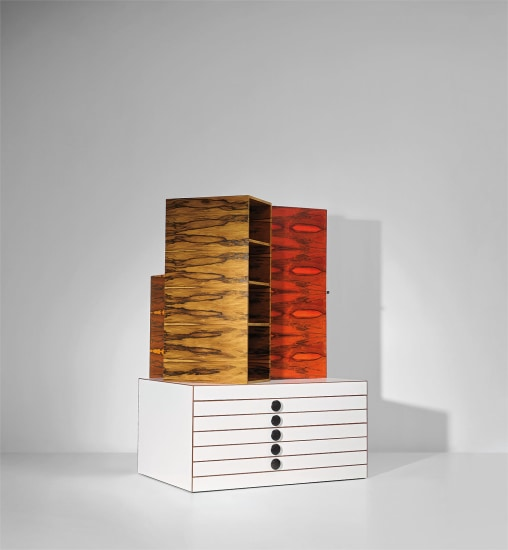 Storage Unit Furniture No. 4, from the 'Mémoires de Chine' collection