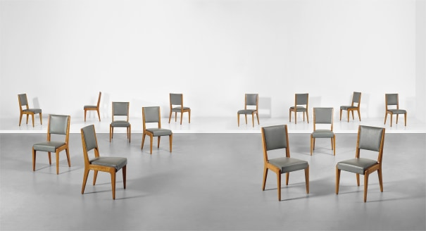 8722a883ee Gio Ponti - Set of fourteen dining chairs, late 1950s | Phillips