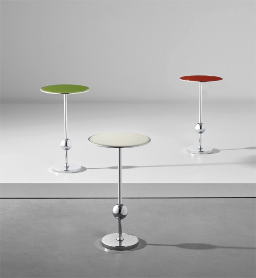 Set of three 'T1' side tables