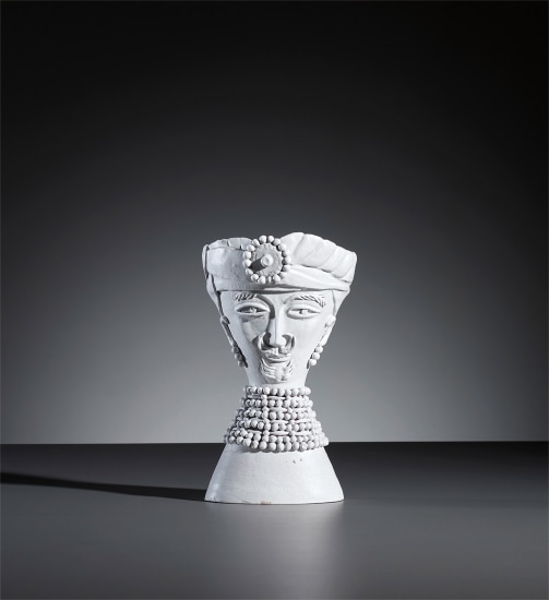 Man with turban statuette