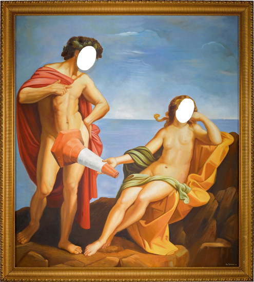 Bacchus At The Seaside