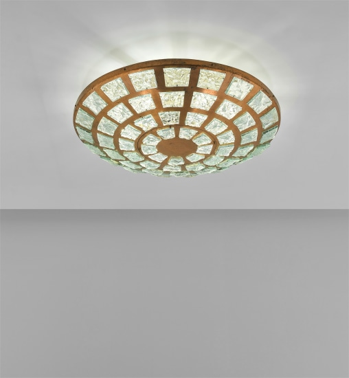 Rare ceiling light, model no. 2379/1