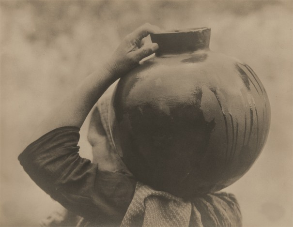 Woman Carrying Olla