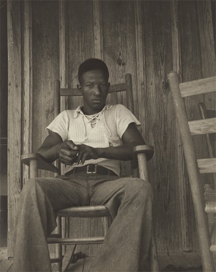 A Negro Boy Who Wants to go to High School, His Father is a Sharecropper near Earle, Arkansas