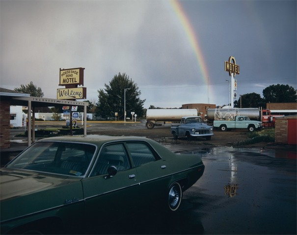 Horseshoe Bend Motel, Lovell, Wyoming, 1973