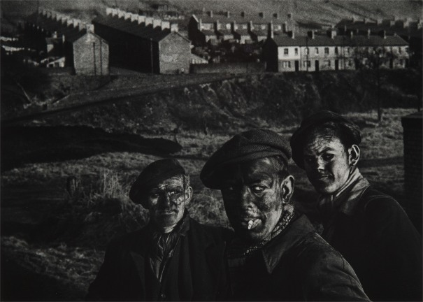 Three Generations of Miners. A Welsh Coal-Mining Town, Wales, Great Britain