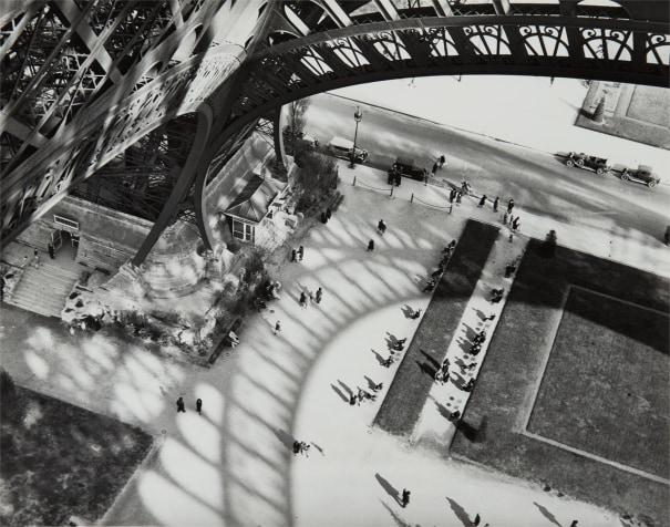 Shadows of the Eiffel Tower