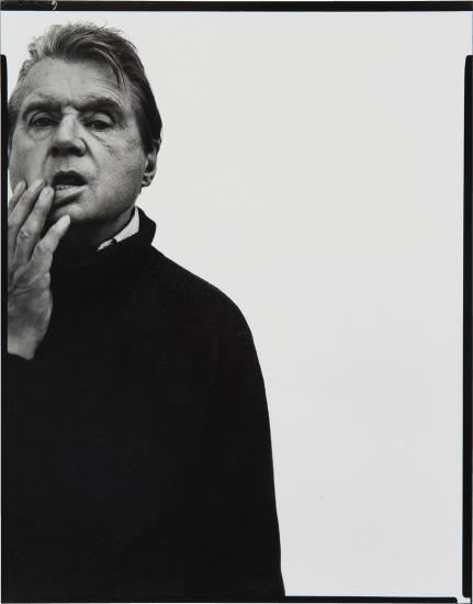Francis Bacon, artist, Paris, April 11, 1979