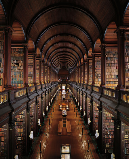 Trinity College Library, The Long Room, Dublin