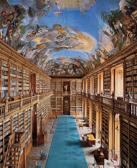 Strahov Monastery Library, Theological Hall, Prague