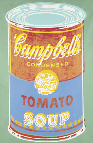 Phillips Andy Warhol Colored Campbell S Soup Can 1965 Contemporary Art Part I New York Thursday May 17 2007 Lot 50