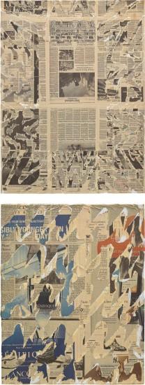 Nikolas Gambaroff - Two works: i) Untitled