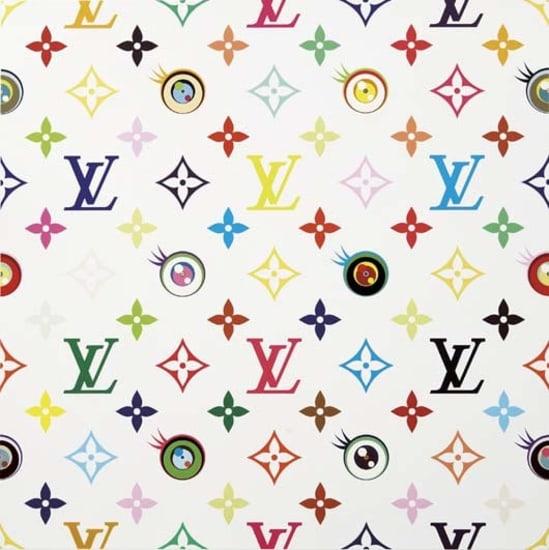 Takashi Murakami Louis Vuitton Eye Love Superflat White 2003 Saturday Phillips New York Friday November 30 2007 Lot 16 Phillips