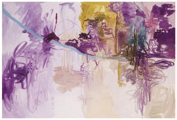 Untitled (purple abstract)