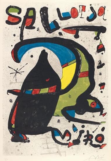 Joan Miró Pintura Sa Llotja (Palma de Mallorca) (Joan Miró Paintings at Sa Llotja in Palma de Mallorca)