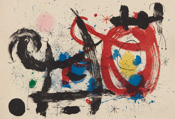 Joan Miró - Le Cheval ivre (The Drunken Horse), 1964 | Phillips