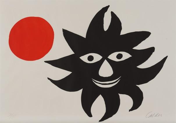 Lune rouge et soleil noir (Red Moon and Black Sun)