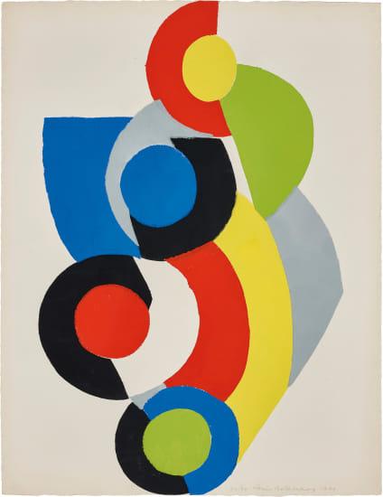 Poésie de Mots, Poésie de Couleurs (The Poetry of Words, The Poetry of Colours): one plate