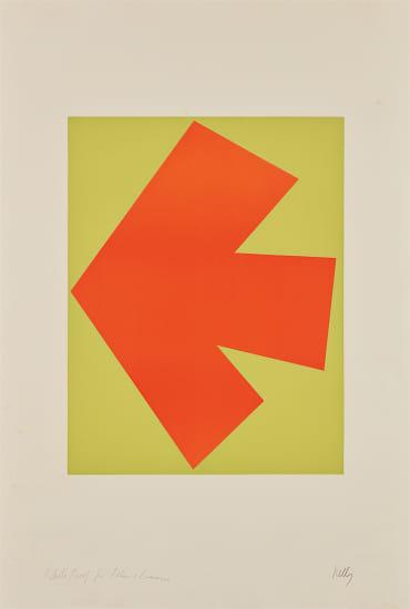 Orange over Green (Orange sur vert), from Suite of Twenty-Seven Color Lithographs