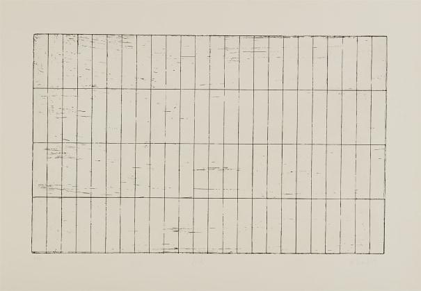 Brice Marden - Grid I, 1971 | Phillips