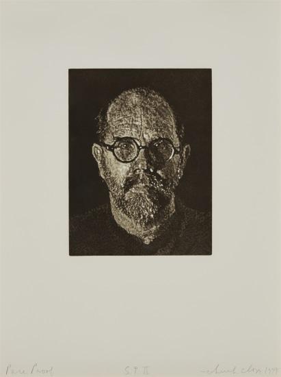 S.P. II (Self-Portrait II)