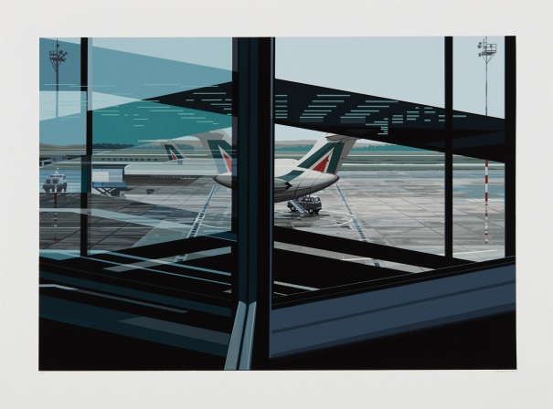 Flughafen (Airport), from Urban Landscapes No. 3