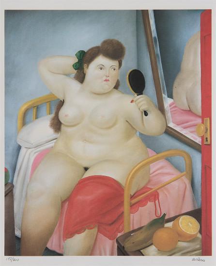 La Toilette, from Botero