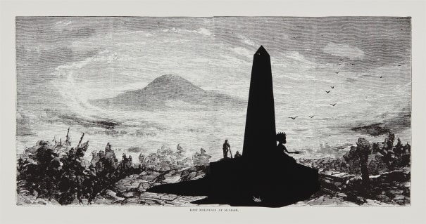 Lost Mountain at Sunrise, from Harper's Pictorial History of the Civil War (Annotated)