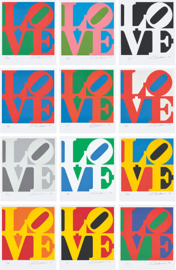 Robert Indiana - The Book of Love, 1996 | Phillips