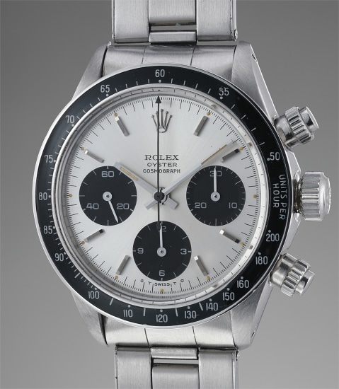 A fine and very rare stainless steel chronograph wristwatch with bracelet, made for the Peruvian Air Force