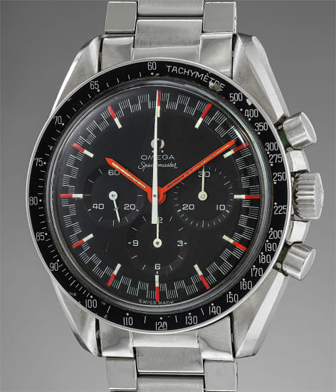 Omega - A fine and extremely rare stainless steel