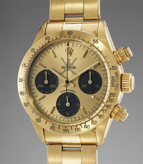 58b482088bd Rolex - An extremely rare and attractive yellow gold chronograph ...