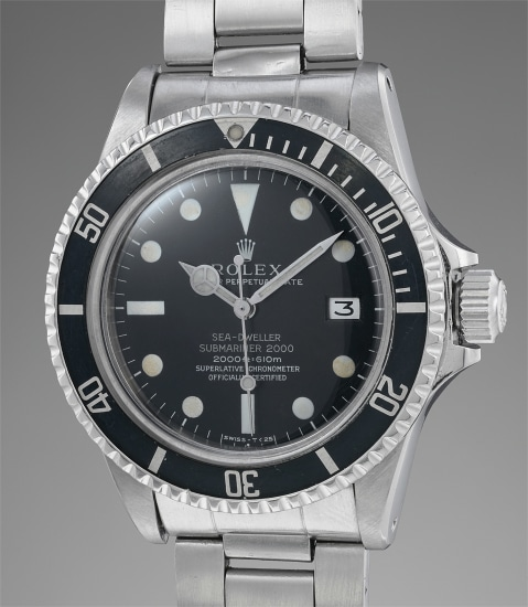 purchase cheap 9dd45 f83ab Rolex - An extremely rare and attractive stainless steel wristwatch ...