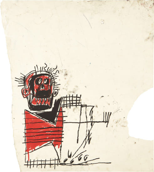 Untitled (Red/Black Figure)