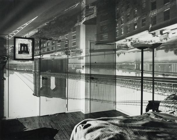 Camera Obscura Image of the Brooklyn Bridge in Bedroom
